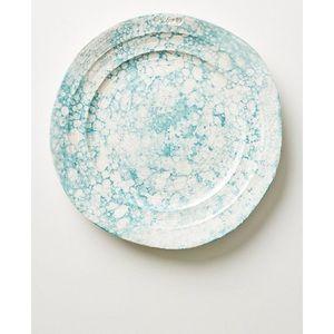 Anthropologie Marbled Glenna Plate